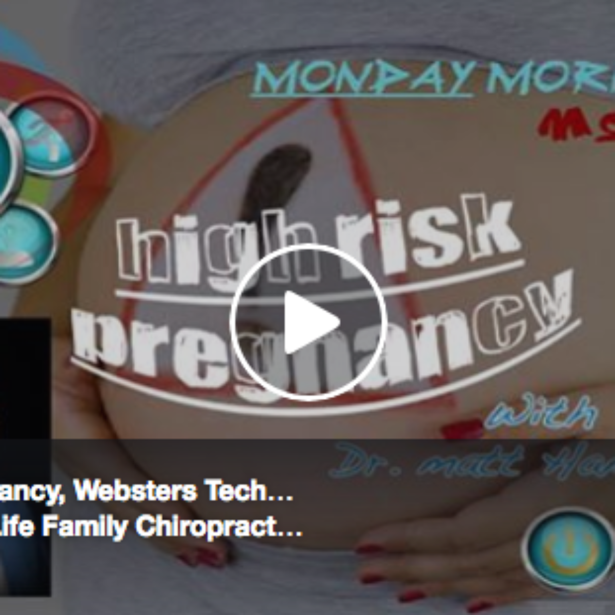 High Risk Pregnancy & The Chiropractic Approach