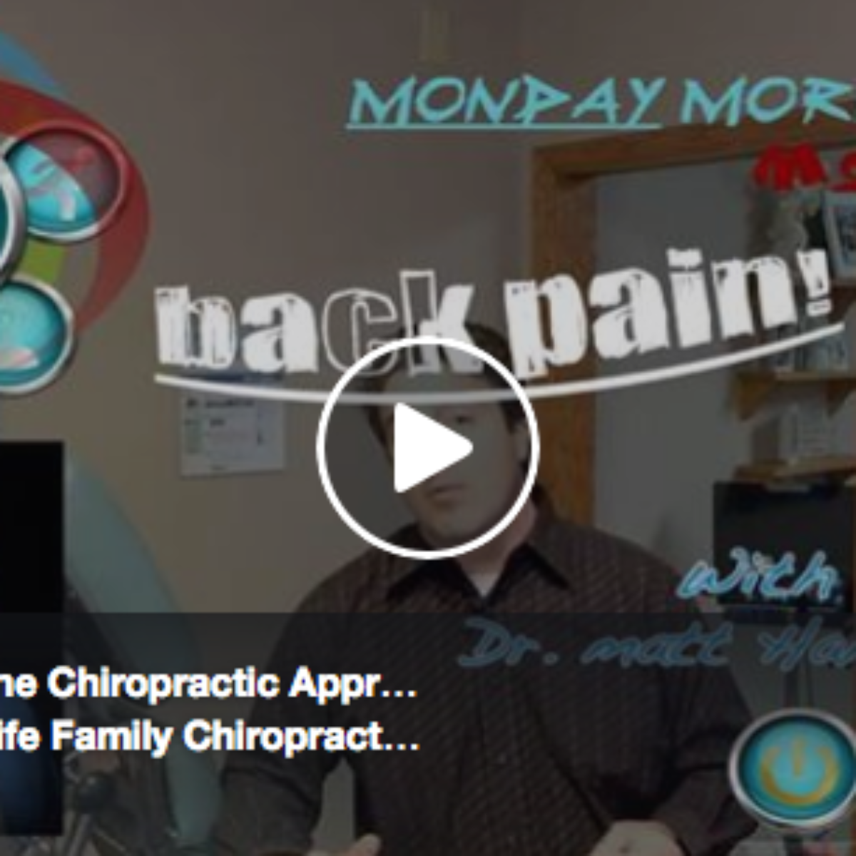 Back Pain & The Chiropractic Approach