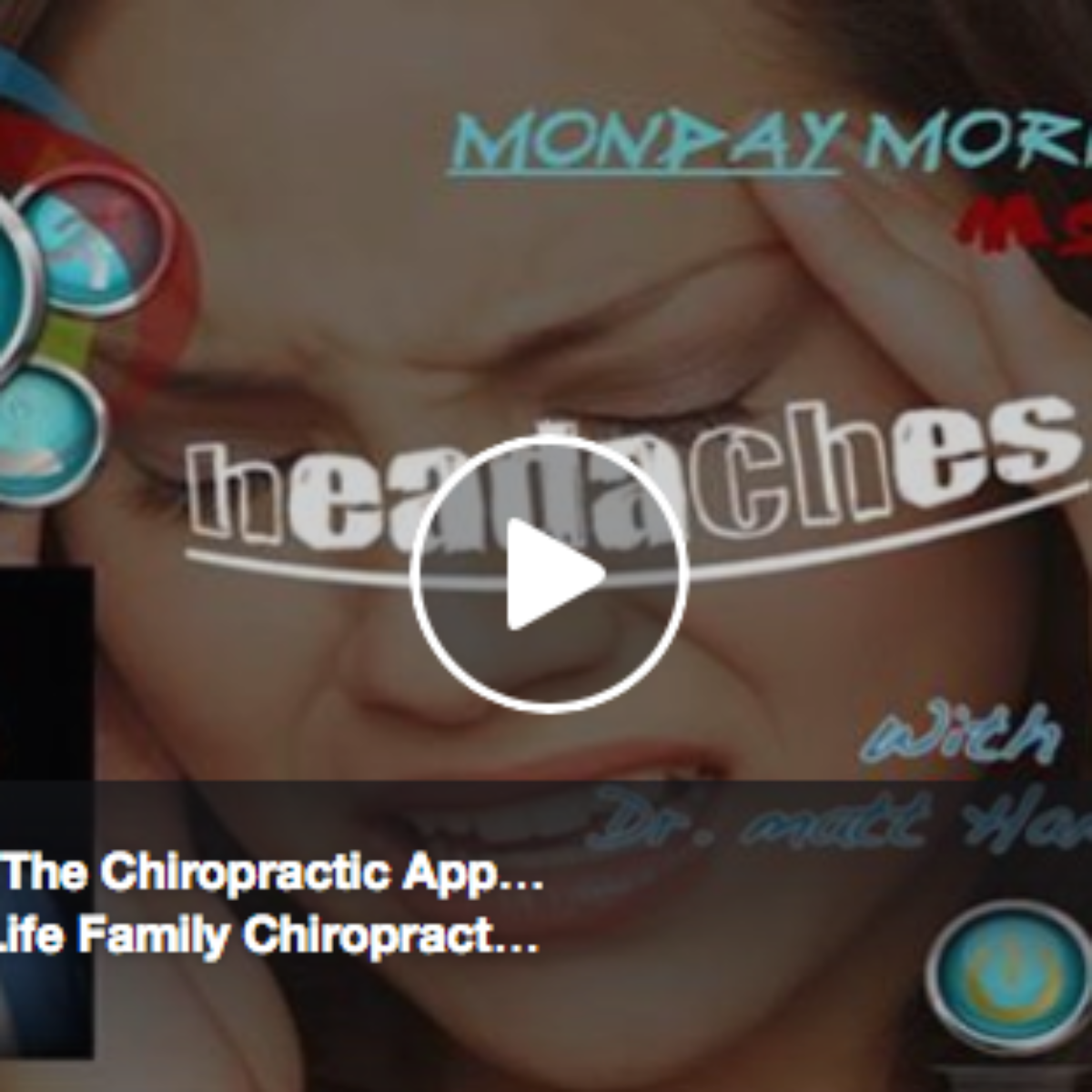 Headaches & The Chiropractic Approach