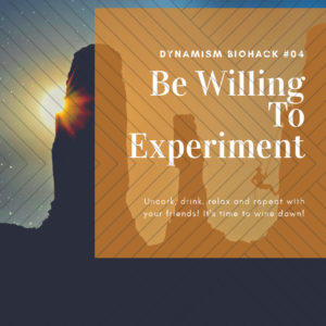 #4: Be Willing to Experiment