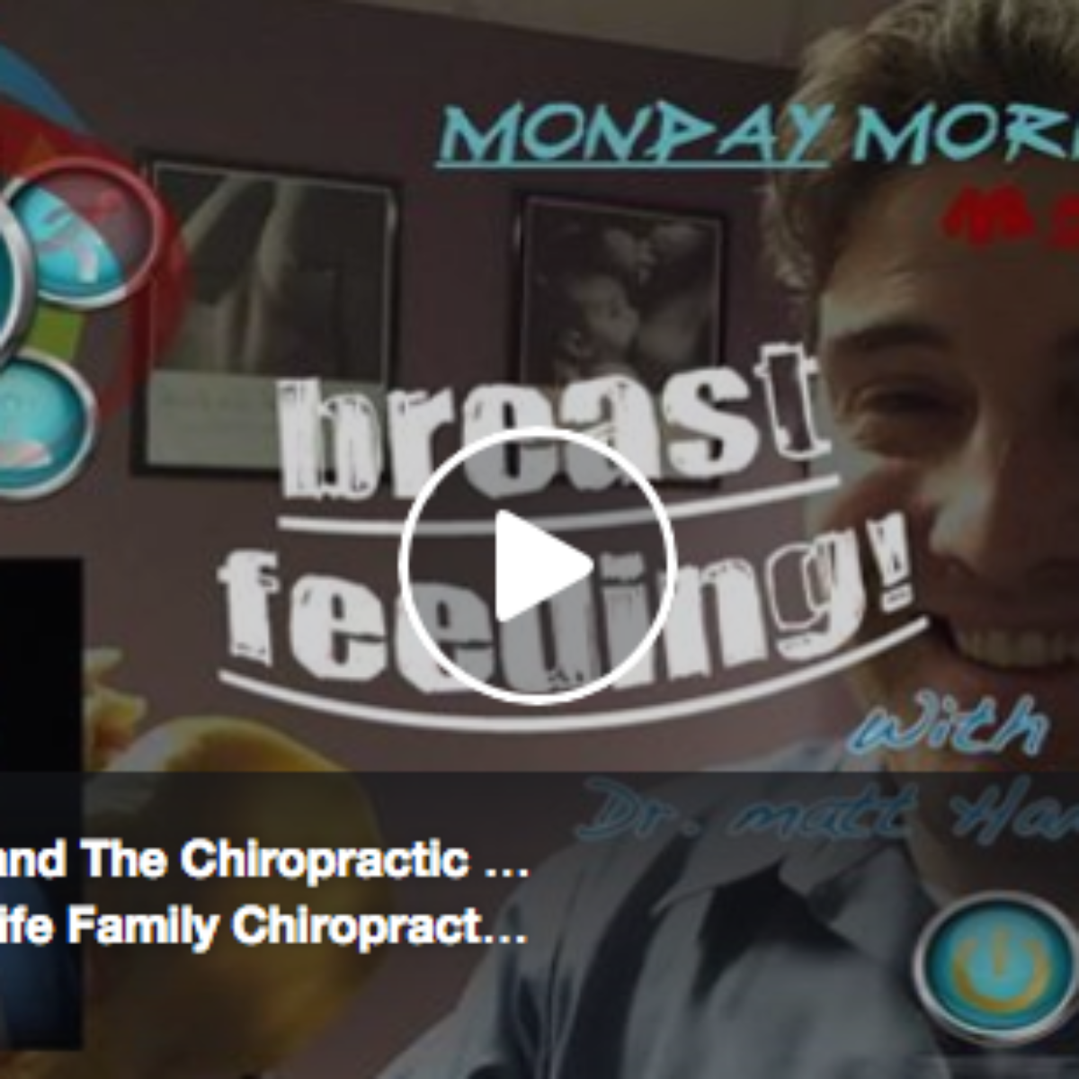 Breast Feeding & The Chiropractic Approach