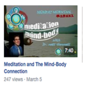 Meditation Mind Body Connection & The Chiropractic Approach