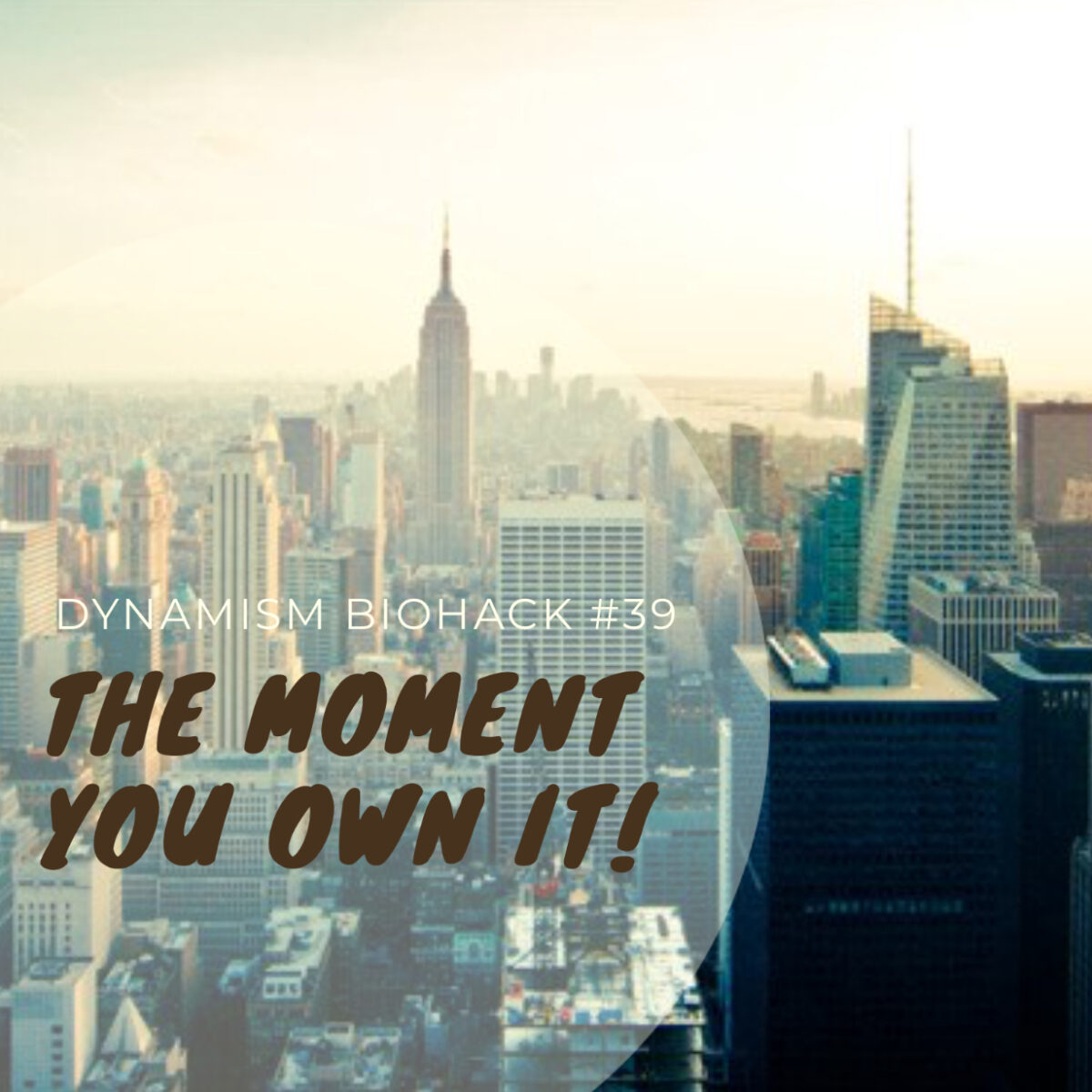 #39: The Moment You Own It