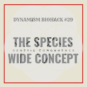 #29: The Species Wide Concept
