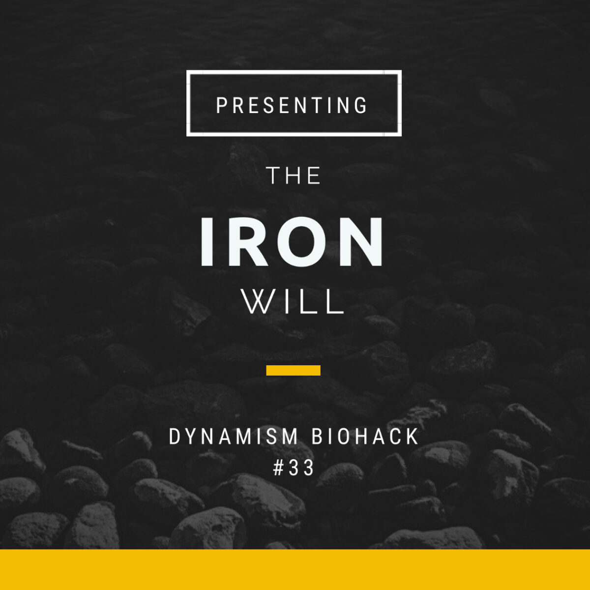 #33: The Iron Will