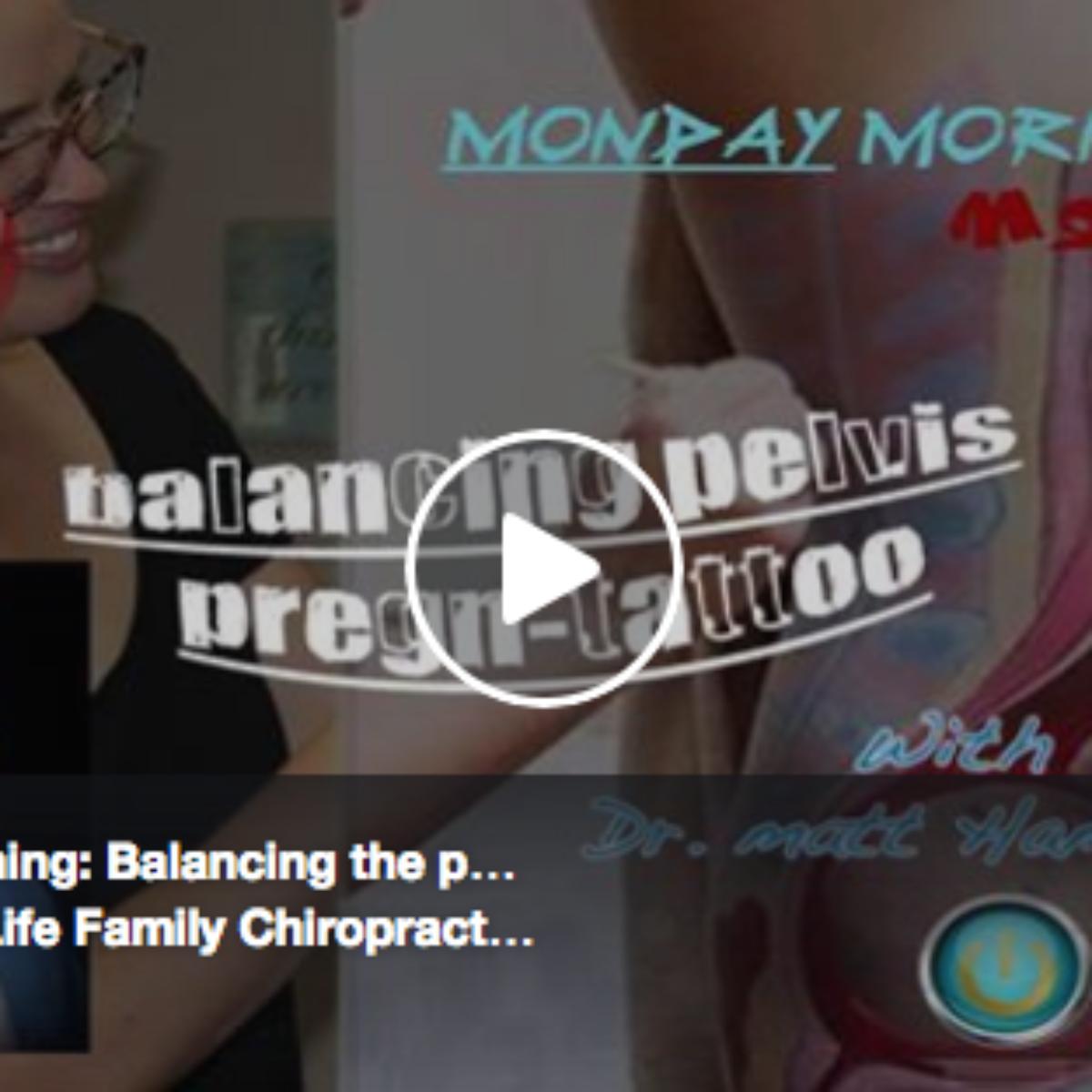 Optimal Positioning: Balancing the pelvis for a natural birth!