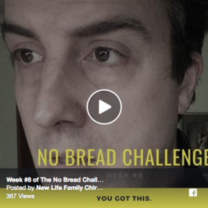 No Bread Challenge: Week #8