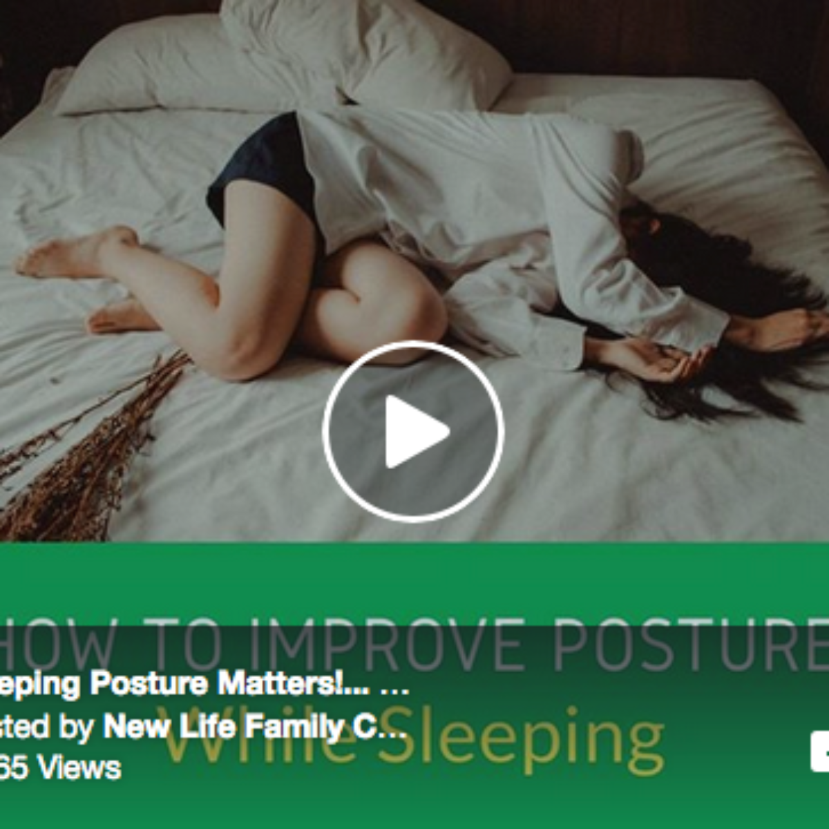 How To Improve Posture While Sleeping