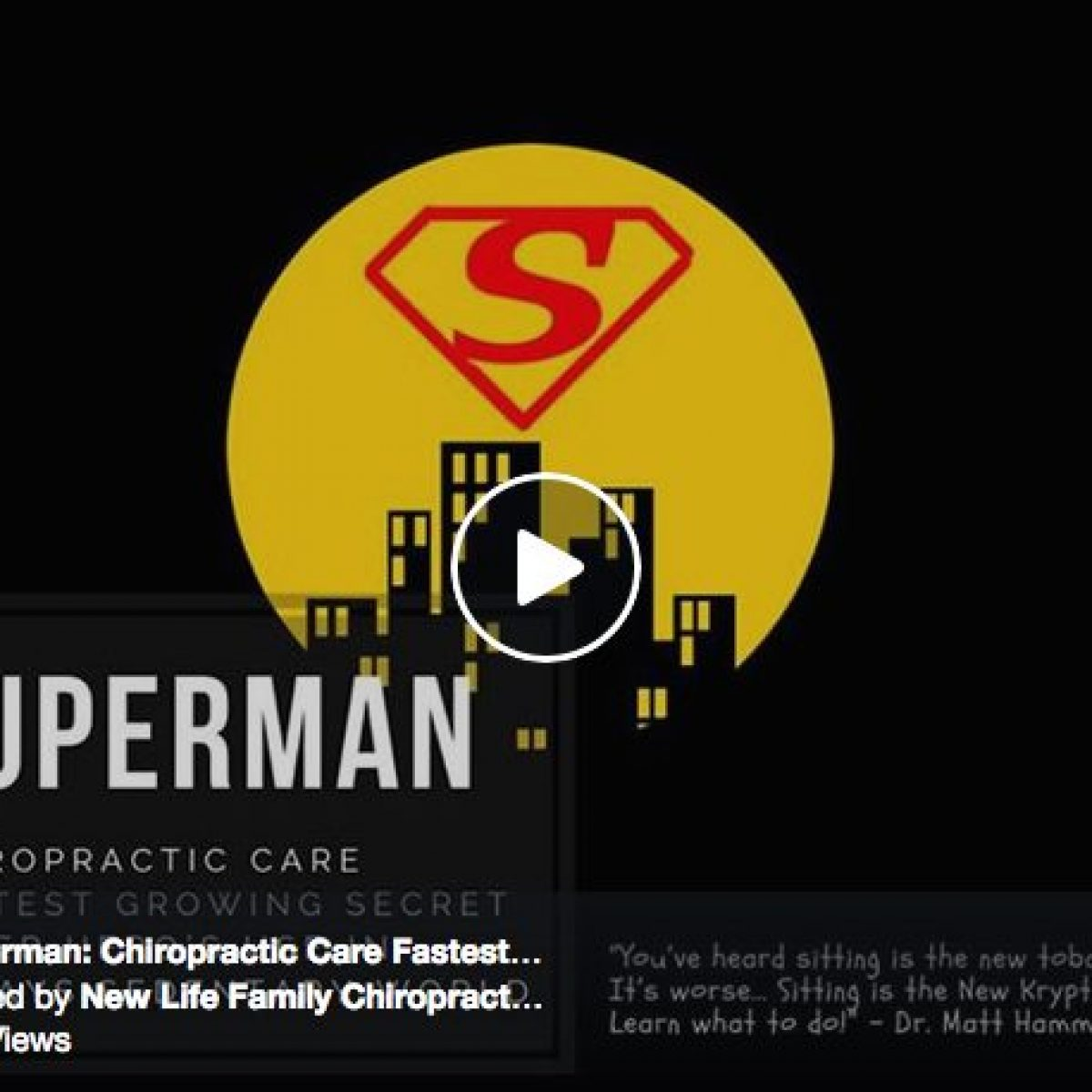 Superman: Chiropractic Care Fastest Growing Secret Super Heroes Use!