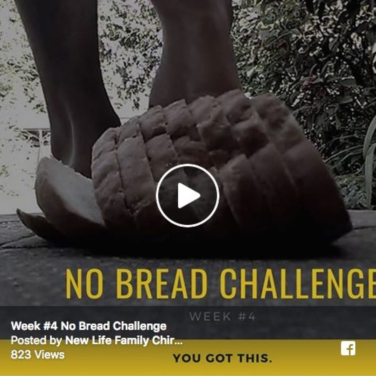 The No Bread Challenge Week #4