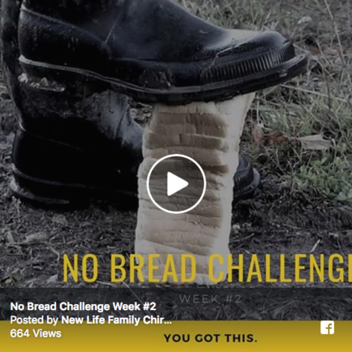 No Bread Challenge Week #2