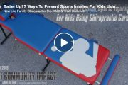 Batter Up! 7 Ways To Prevent Sports Injuries For Kids Using Chiropractic