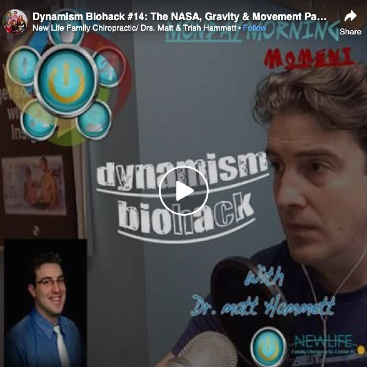 Dynamism Biohack #14: The NASA, Gravity & Movement Paradox
